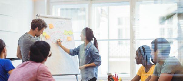 Amazrock Consultant Team Brainstorming